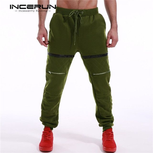 Incerun Mens Thick Fleece Lined Sweatpants 2017 Winter Joggers