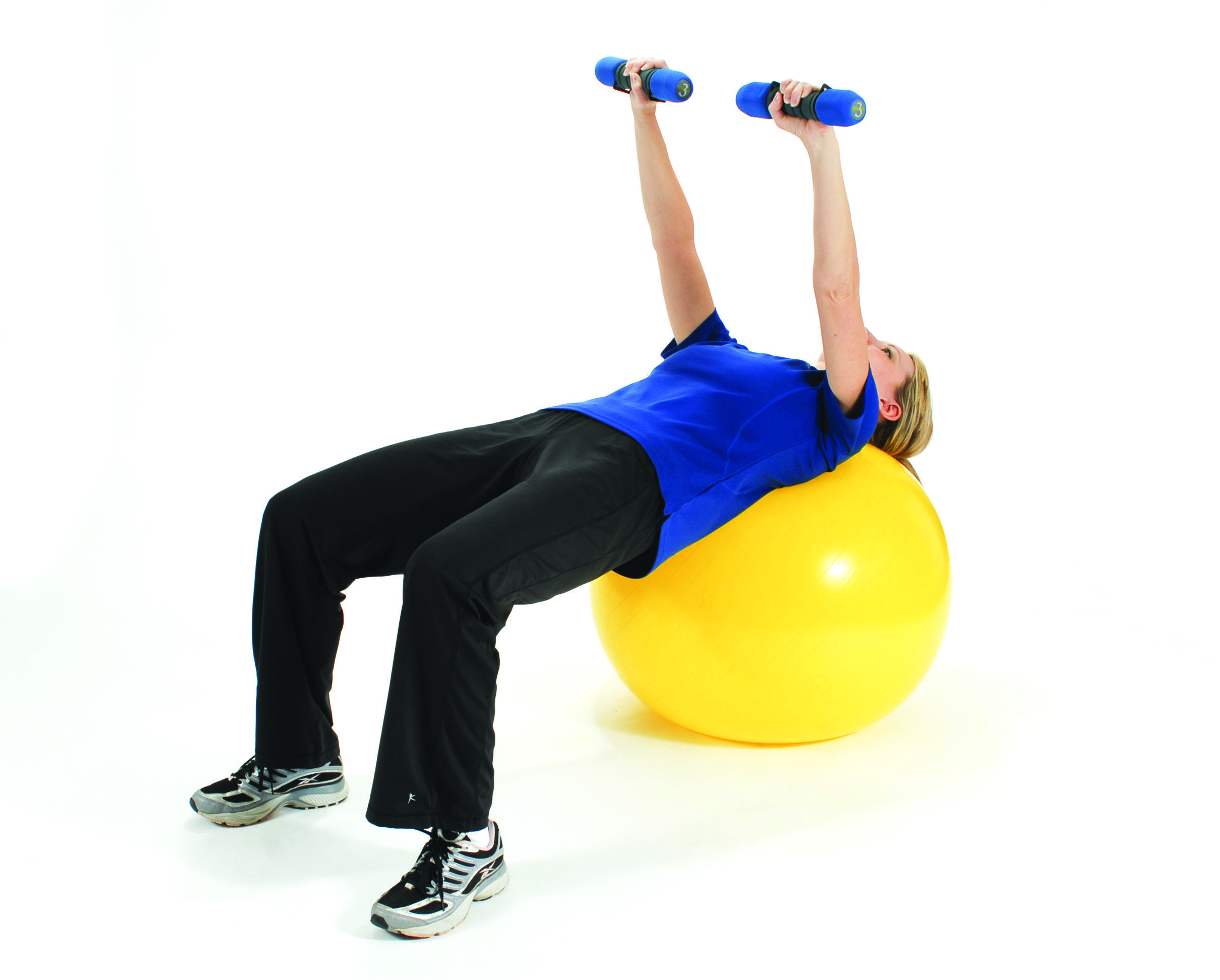 Exercise Ball Chest Exercises