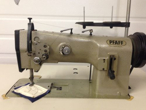 PFAFF40GERMANMADEWALKINGFOOTREVERSE40VOLTINDUSTRIAL Gorgeous Pfaff Walking Foot Sewing Machine