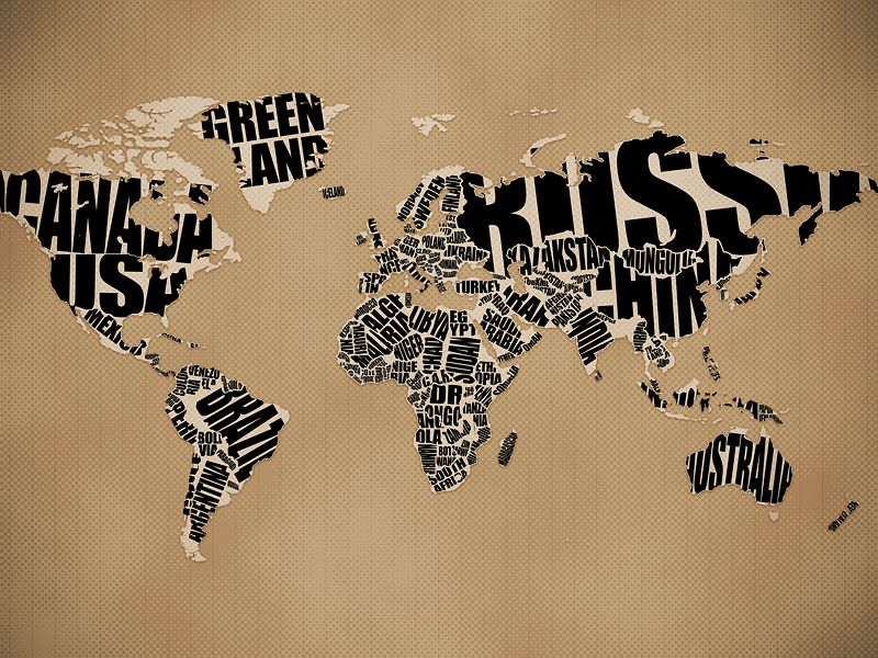 Typographic world map wallpaper free downloads lots of cool typographic world map wallpaper free downloads lots of cool images gumiabroncs Images