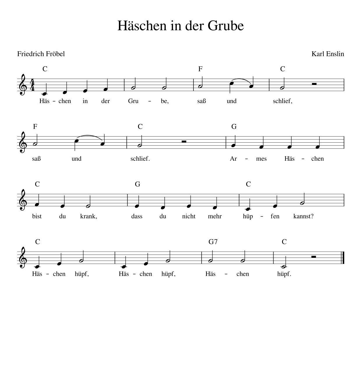 Haschen In Der Grube Deutsches Kinderlied Mit Noten Akkorden Text Mp3 Und Video Kinderlieder Zum Mitsingen Muench Kinder Lied Kinderlieder Kinderlieder Deutsch