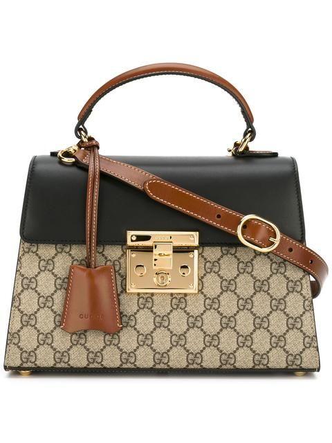 5cd9694f0451 GUCCI Padlock GG Supreme tote. #gucci #bags #shoulder bags #hand ...