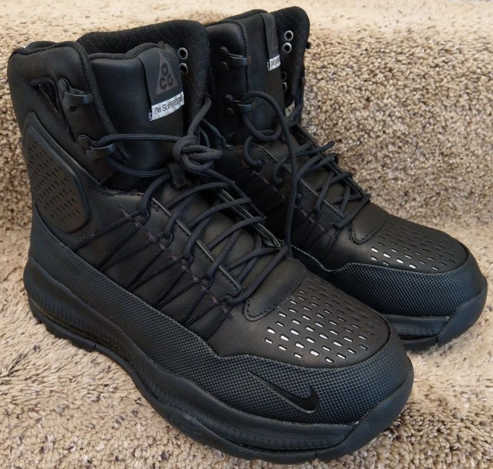 745d9eb59cd4 Nike Zoom Superdome ACG Boots Shoes Triple Black 3M 654886-040 Sz 9   fashion  clothing  shoes  accessories  mensshoes  athleticshoes (ebay link)