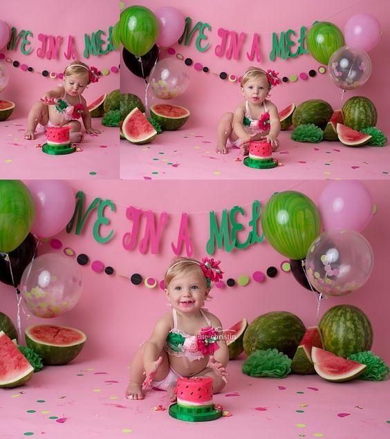 Fiesta primer año de tu hija   Fiestas de primer cumpleaños ...