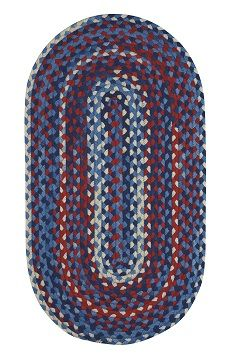 Capel Rugs And Anthony Baratta Red White Blue Braid Capel Rugs