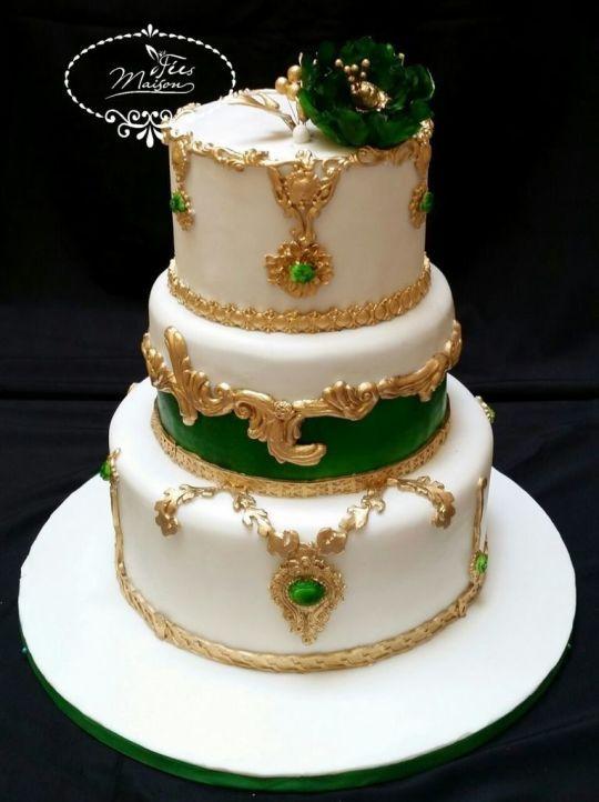 Cake for Henna ceremony