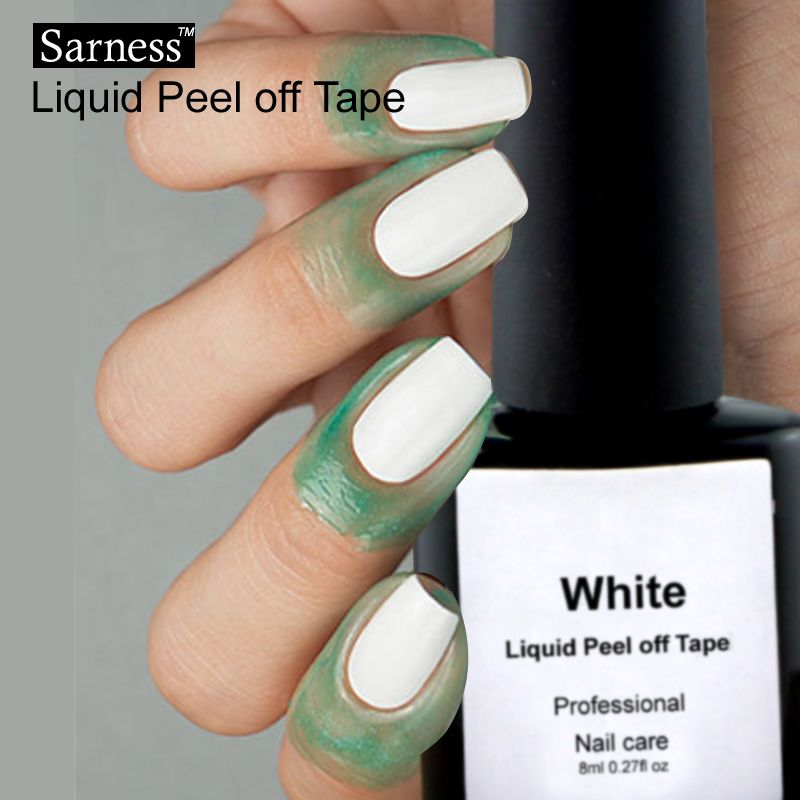 Sarness Gel Varnish Skin Defender Liquid Latex Adhesive Peel Off UV ...