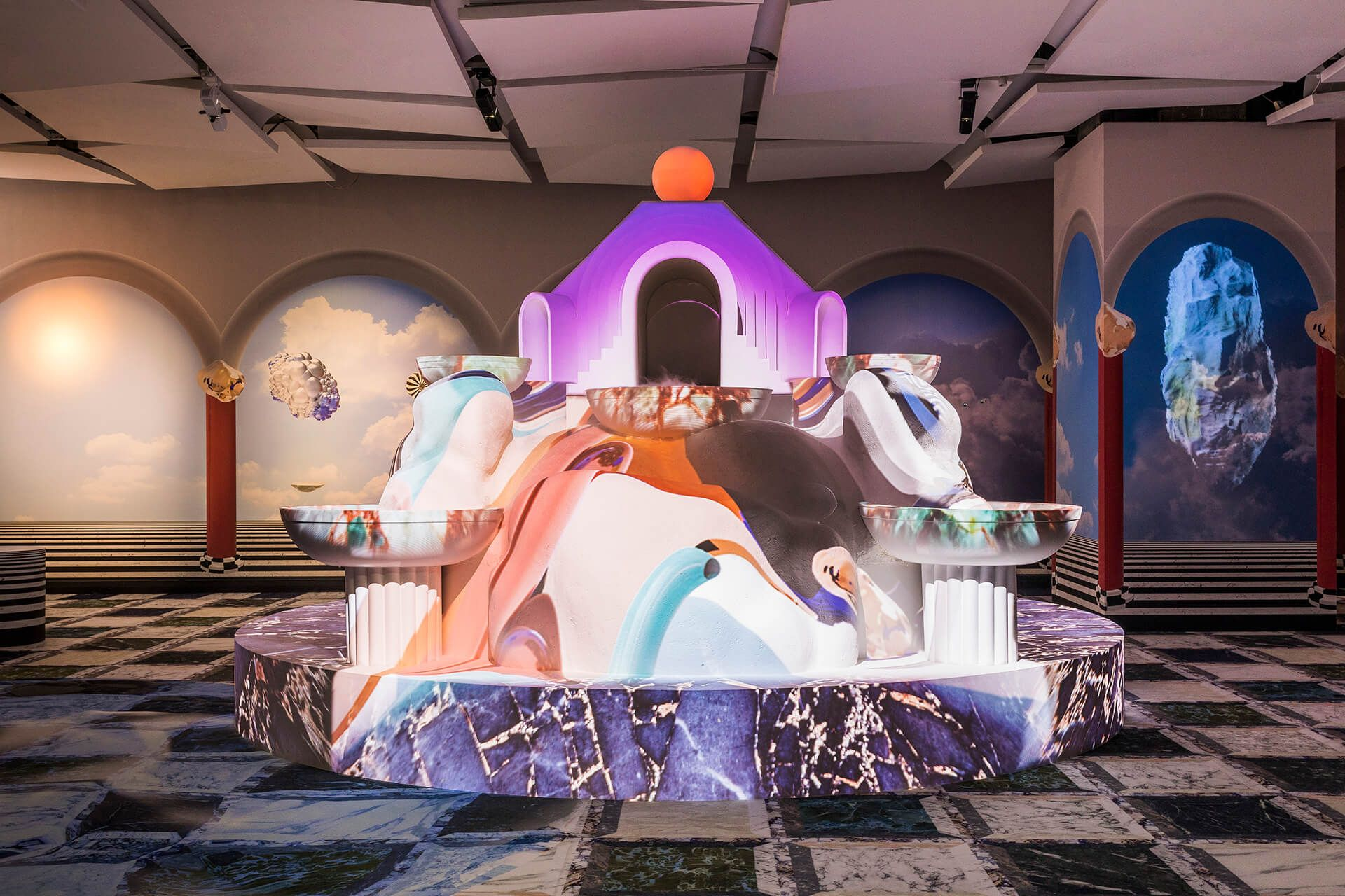 With An Art Exhibition Galeries Lafayette Adds Cultural Currency To Shopping Exhibition Galeries Lafayette Art Exhibition
