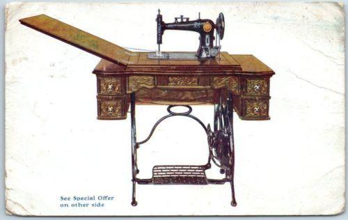 1909 spotless co mail order postcard a drop head sewing machine for 1909 spotless co mail order postcard a drop watchthetrailerfo