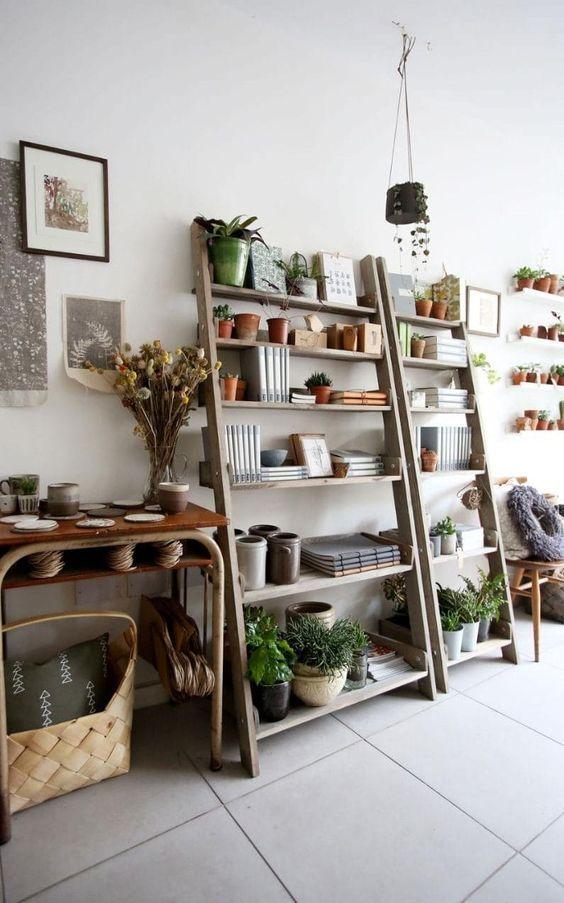 Repisas para jardin   Repisas metalicas, Repisas para plantas y ...