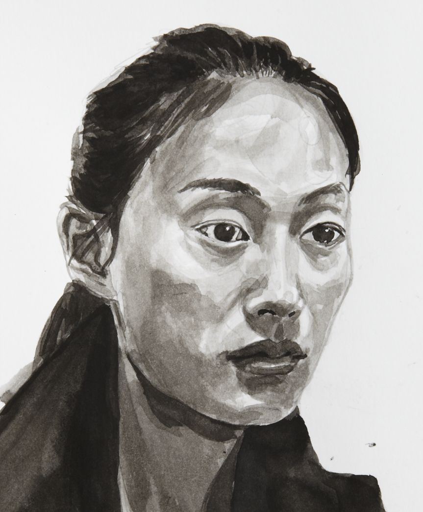 Ink Wash Portrait - Google Search