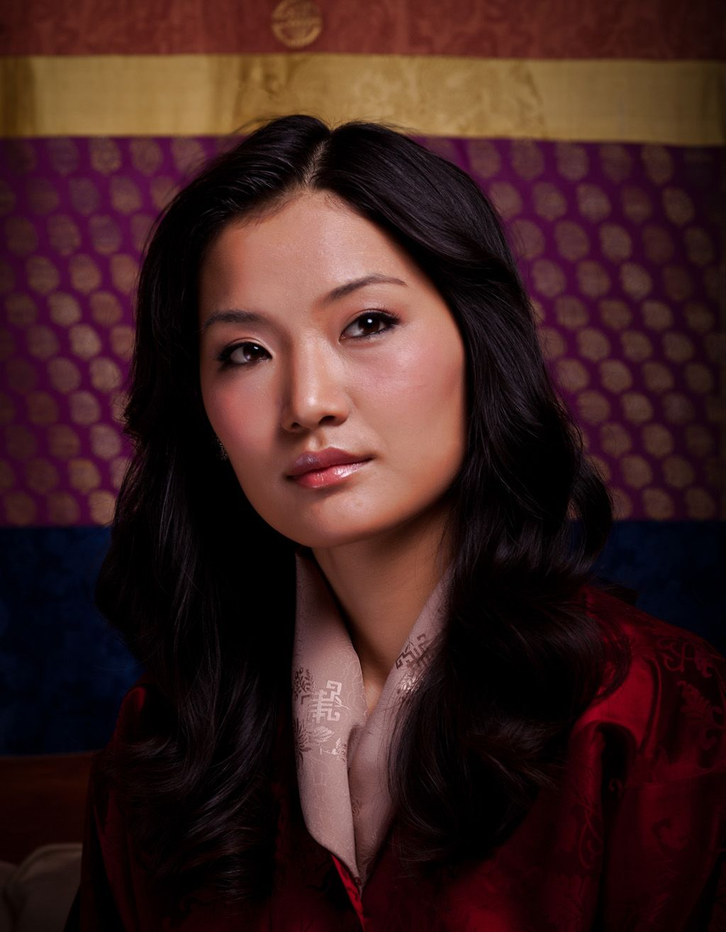 The Queen of Bhutan, Jetsun Pema SpouseJigme Khesar Namgyel Wangchuck Full nameJetsun Pema Wangchuckk HouseHouse of Wangchuck Father YAB Dhendup Gyaltshen MotherYUM Sonam Choki Born 4 June 1990(age22) inThimphu, Bhutan ReligionBuddhism