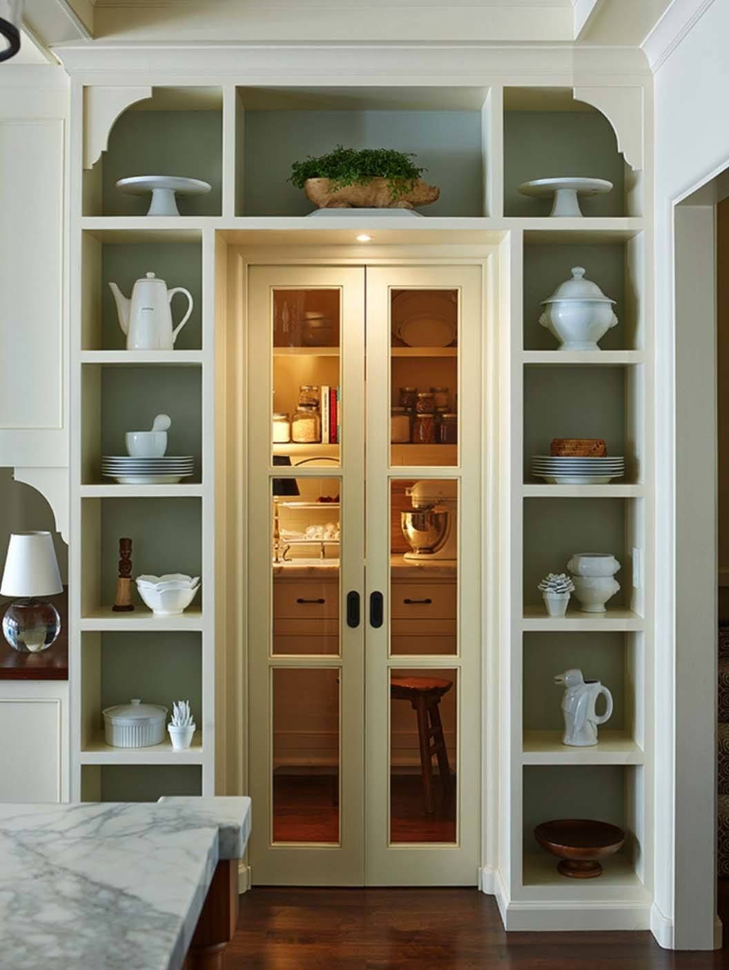Clever ideas to help organize your kitchen pantry