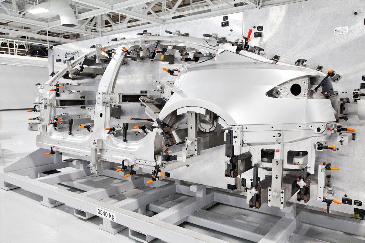 Tesla factory Tesla model s, Tesla motors, Tesla