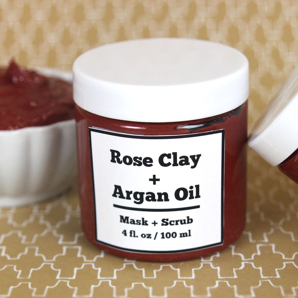 Cleansing Clay Label Template Downloadable Pdf Packaging