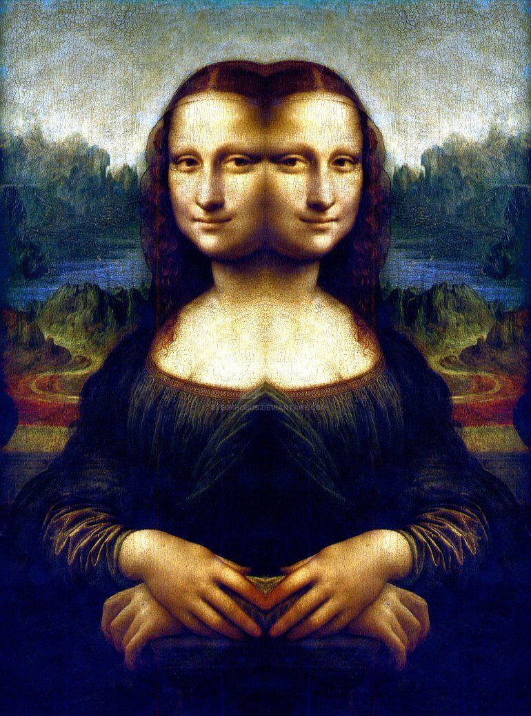 Mona Lisa Mirror 1 Mona Lisa Mona Mona Lisa Smile