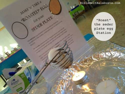 Roast a beitzah (egg) to take home for your seder plate #Passover ...