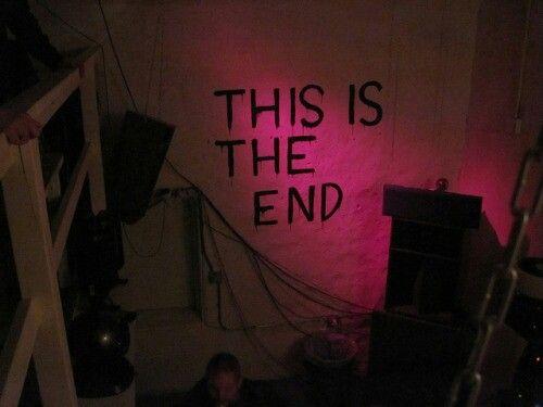 Este es el fin  para ti