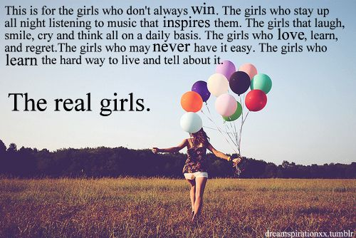 The real girls.
