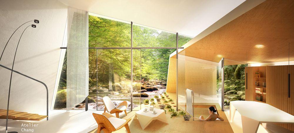 Il resort tutto bianco di Atelier Chang