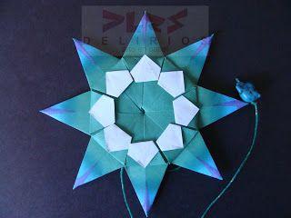 DELIRIOS -Arte en Papel-: Mandala. Origami. Delirios.
