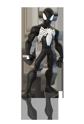 Black Suit Spiderman Disney Infinity 2 0 Characters Disney Infinity Spiderman Black Suit Marvel Superheroes