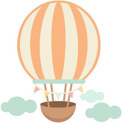 foto de Hot Air Balloon cute scrapbook cuts SVG cutting files
