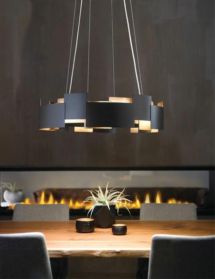 Kronleuchter Modern Stilvolles Design Schwarz