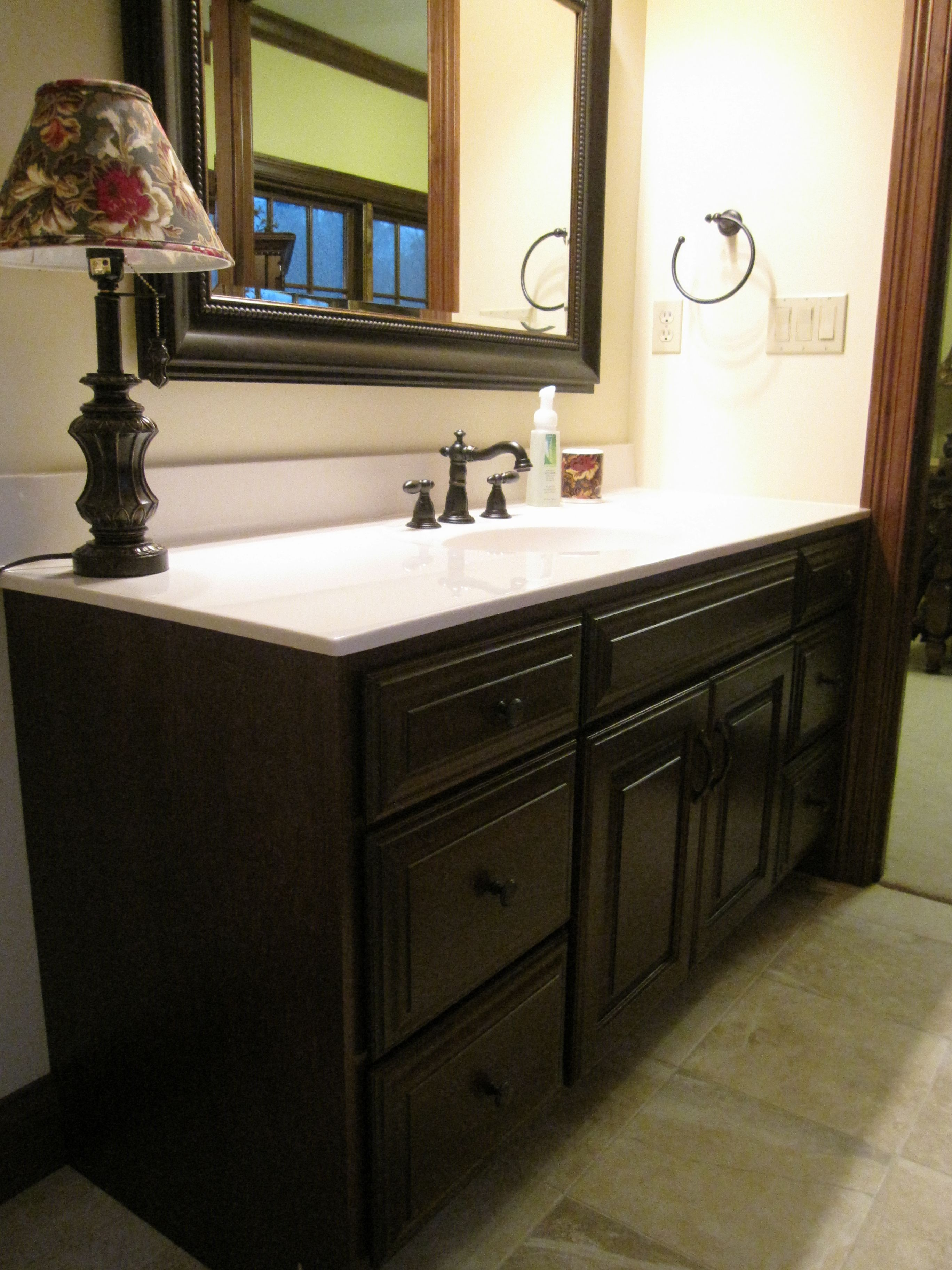 Custom Made Amish | For the Bathroom | Bathroom, Vanity ...