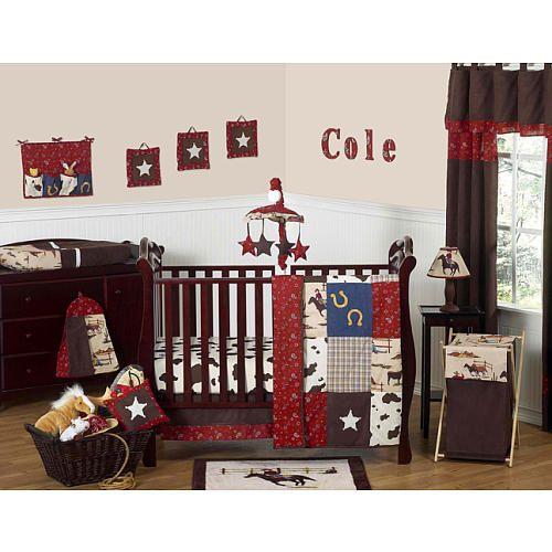 sweet jojo designs wild west cowboy collection 11 piece crib bedding