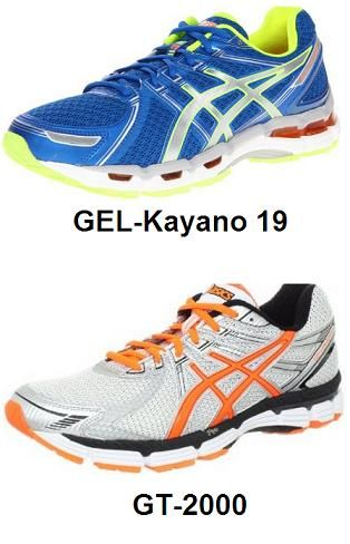 476663f642 Asics GEL- Kayano 19 vs GT-2000. A Comparison chart between Asics GEL-  Kayano 19 and GT-2000 Men's Running Shoes.