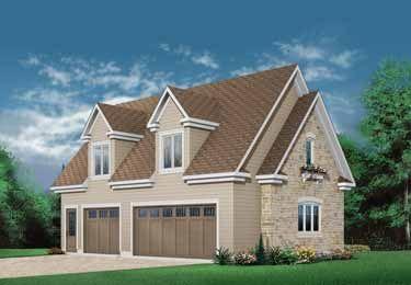 Colonial Style House Plan 0 Beds 0 Baths 1576 Sq Ft Plan 23 438 Garage Door Design Garage Floor Plans Garage Plans