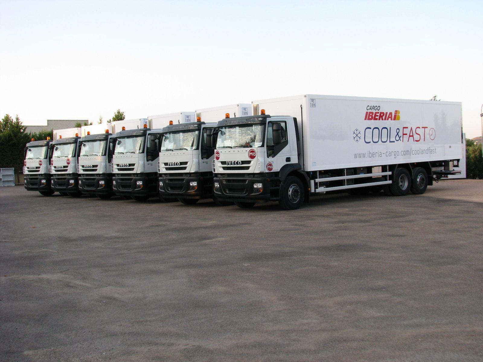 Iberia Cargo Cool & Fast trucks Iberia, Air cargo, Cargo