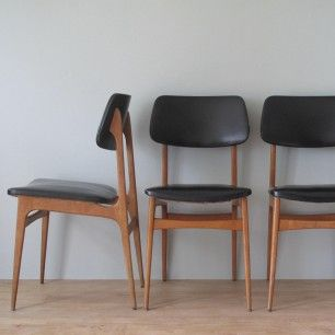 chaises scandinave vintage bois sky mon vintage pinterest chaise. Black Bedroom Furniture Sets. Home Design Ideas