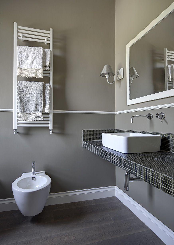 Bagno con battiscopa tiziano 140 e cornice decorativa 30 idee bagno pinterest bathroom - Ricci casa bagni ...