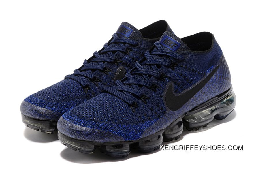 f1052714e62a61 Nike Air VaporMax Flyknit 2018 2018400 Navy Blue New Style in 2019 ...