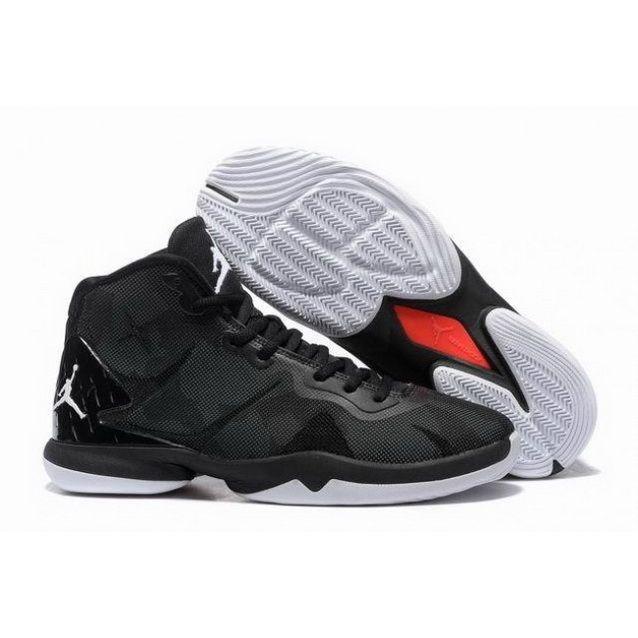 Mens Nike Jordan Super Fly.4 Black White