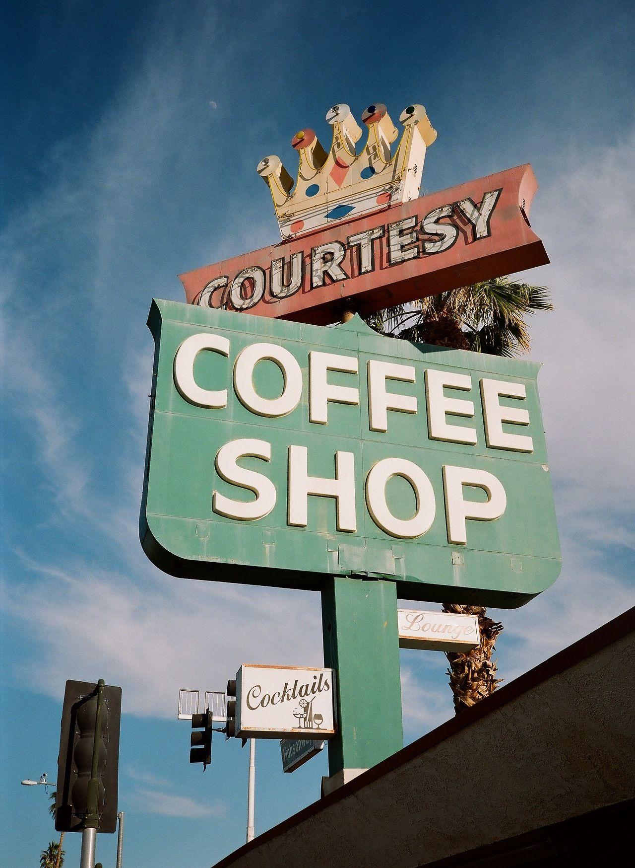 courtesy coffee shop, blythe, california Blythe