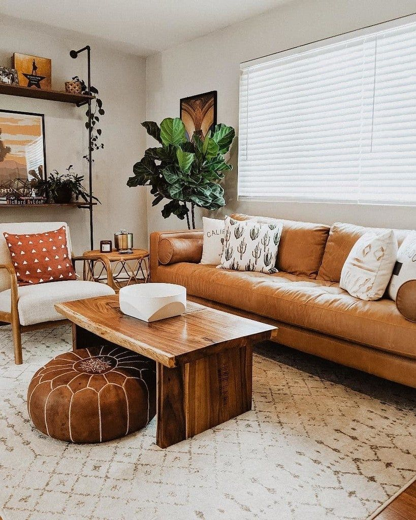 The Handsome Landmark Brown Leather Living Room Sectional Is Distinguished By I Leather Living Room Furniture Living Room Leather Leather Sectional Living Room
