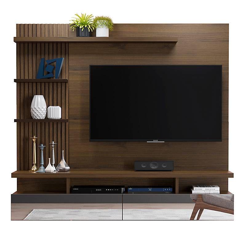 Mica Panel Para Tv Vitoria Madera Cafe Living Room Tv Unit Designs Living Room Tv Unit Tv Unit Furniture Design