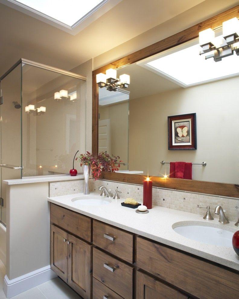 37 Modern Bathroom Vanity Ideas For Your Next Remodel In 2020 Small Bathroom Remodel Modern Bathroom Vanity Trendy Bathroom Tiles
