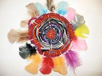 Art is Basic-- Art Teacher Blog: Circular Weaving