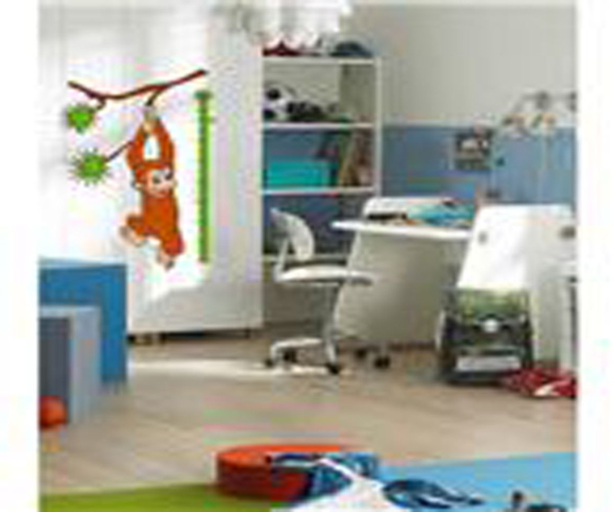 Monkey Measuring Wall Decal