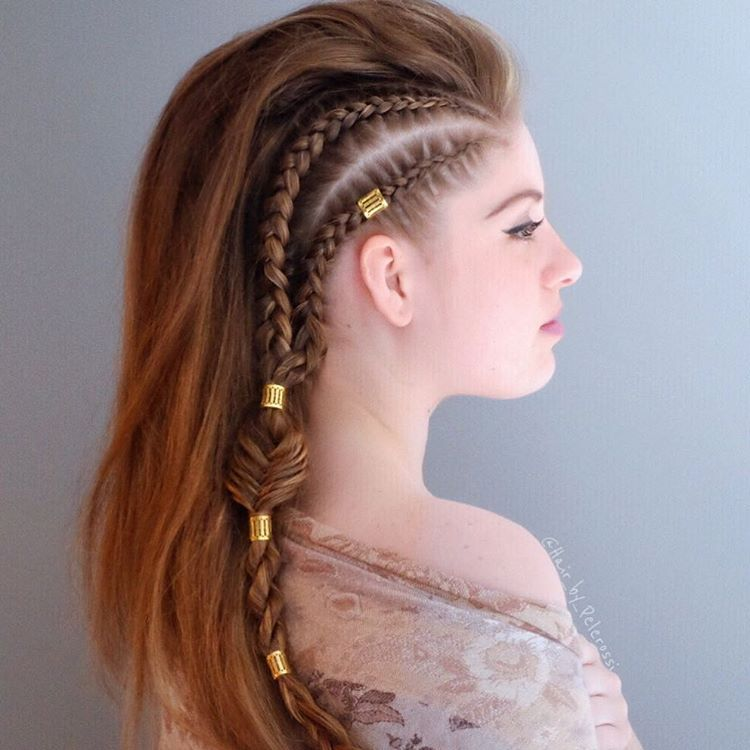 Braided Warrior Hello Gorgeous This Hairstyle Has