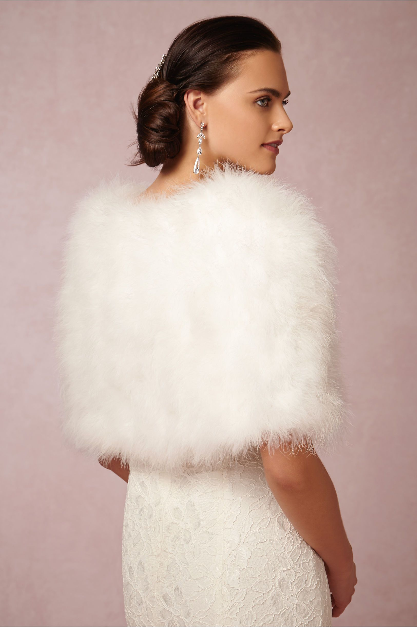 Sadie wrap in shoes u accessories cover ups at bhldn feather wrap