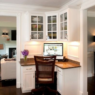 Corner Desk Design Ideas Pictures Remodel And Decor Home Office Design Built In Furniture Home