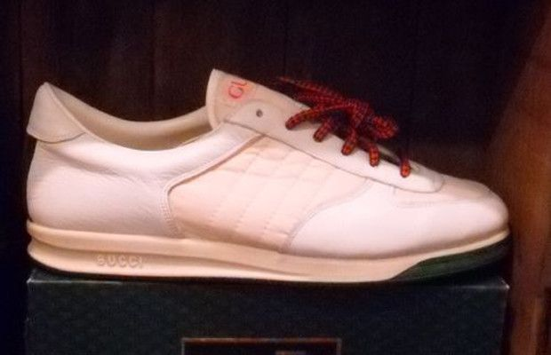 new concept c7a7d 51976 Gucci - Tennis Shoes - 1984 Gucci Brand, Tennis Sneakers, Gucci Sneakers,  Vintage