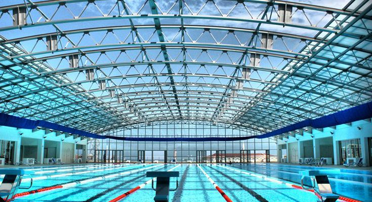 Batumi Plaza, Georgia, Pool Enclosure, Retractable Roof, Swimming Facilities Part 39