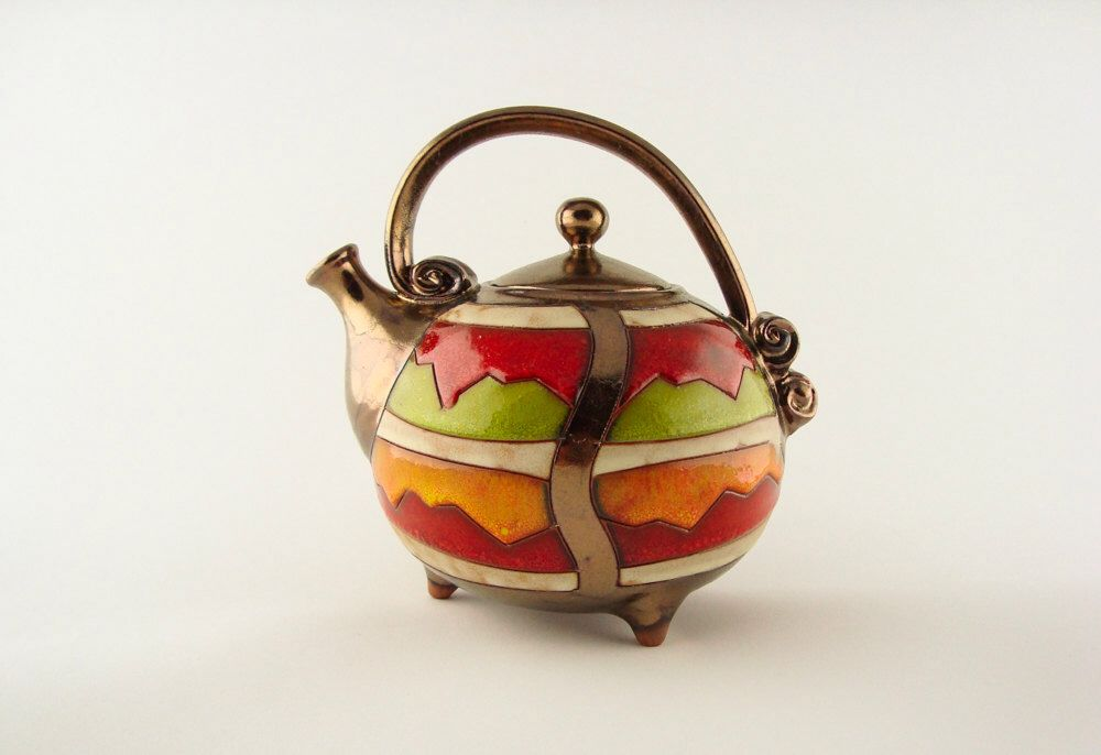 Colorful ceramic teapot, pottery teapots, ceramics and pottery, red teapot, teapot set, stoneware teapot, by Avanturine on Etsy https://www.etsy.com/listing/199203694/colorful-ceramic-teapot-pottery-teapots