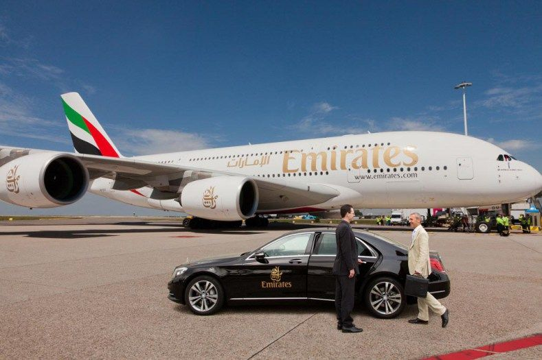 emirates first class limo service